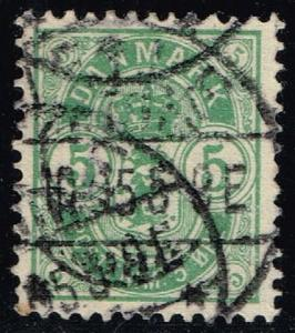 Denmark #43 Numeral; Used (0.75)