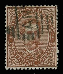 ITALY-d-a-1862-1928 ISSUES (to 196) 49  Used (ID # 57902)