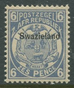 STAMP STATION PERTH Swaziland #4 Overprint Issue MNH CV$50.00