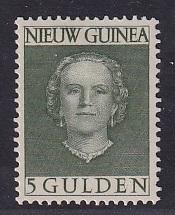 Netherlands New Guinea   #21  MH 1950  Juliana  5g
