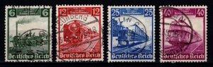Germany 1935 German Railway Centenary, Set [Used]