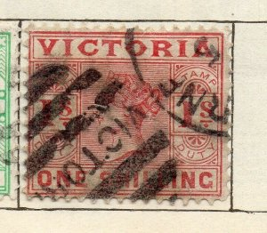 Victoria 1887-98 Early Issue Fine Used 1S. NW-11577