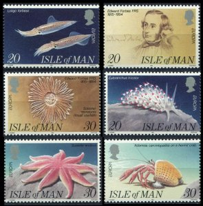 1994 Isle of Man 587-592 Europa Cept / Marine fauna 6,00 €