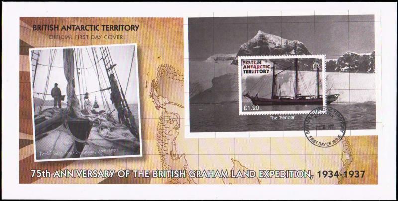 British Antarctic Territory Scott 439 Unaddressed.