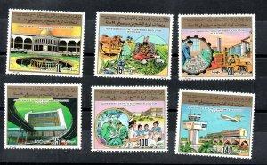 1983 - Libya - Achievements of the Revolution - Complete set 6v.MNH** Rare