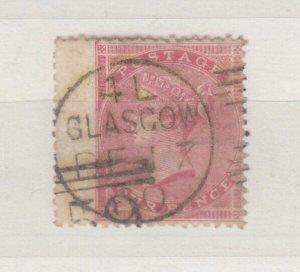 GB QV 1855 4d Rose Superb Glasgow CDS SG66a VFU Margins J9119