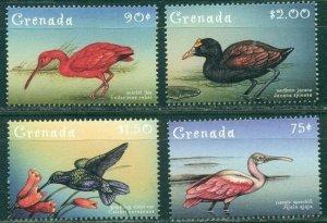 2000 Grenada 4050-4053 Birds