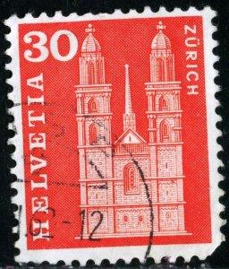 SWITZERLAND #387, USED - 1960 - SWIT105