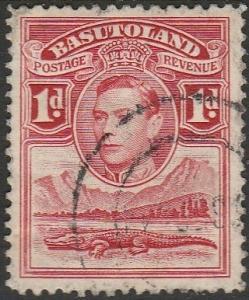 Basutoland, #19 Used From 1938