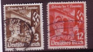 Third Reich Sc. # 467 / 468 Used