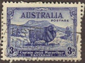 Australia #148 used sheep CV$12
