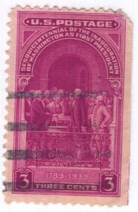United States, Scott # 854,  Used