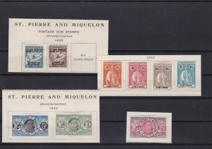 saint pierre and miquelon stamps ref r10534