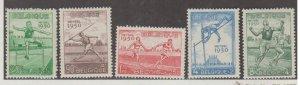Belgium Scott #B481-B484 Stamps - Mint Set