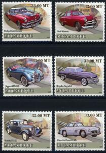 Mozambique MNH Antique Cars 2009