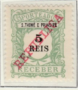 Portugal ST. THOMAS AND PRINCE ISLANDS 1911 5r MH* A5P55F23