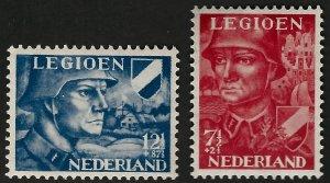 Netherlands SC B144-B145 Mint VF SCV$11.00 .Fill empty Spots!