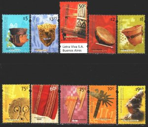 Argentina. 2000. 2590-99. Argentinean culture. MNH.