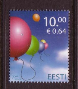 Estonia Sc569 2007 International Children's Day stamp NH