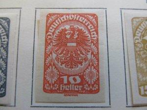 A13P24F73 Deutschosterreich German Austria 1919 10h Imperf fine MH* stamp