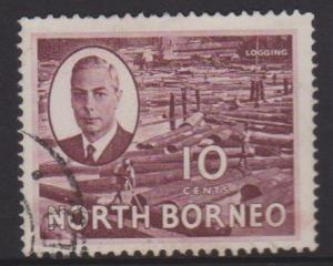 North Borneo Sc#250 Used
