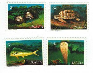 Malta 563-6 Marine Life Fish Turtle Shell & More