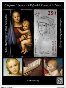 Stamps of Kyrgyzstan 2020. - The Anniversaries of Great Personalities - Raphael