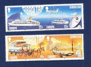 GIBRALTAR - # 524-527a - MNH  - EUROPA 1988