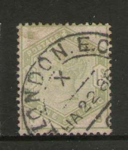 GB 1884 Queen Victoria SG 196 FU