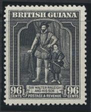 British Guiana SG 299 Mint  Faintest of Hinge trace (Sc# 221 see details)