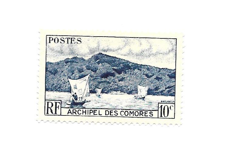 Comoro Island 1950 - Scott #30