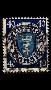GERMANY REICH Danzig [1924] MiNr 0199 xa ( OO/used )