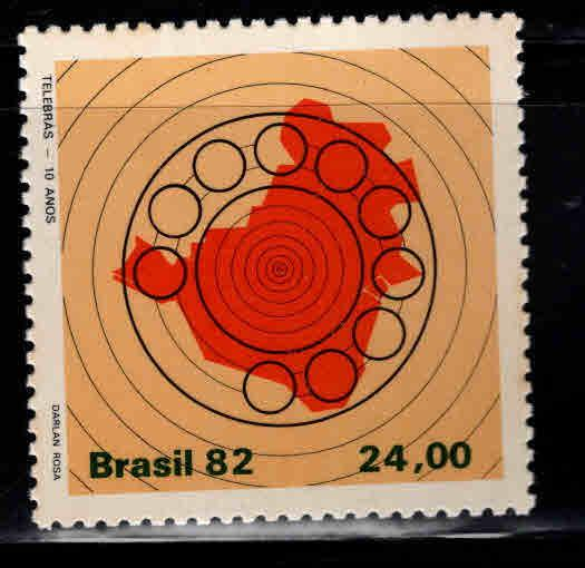 Brazil Scott  1825 MNH** telephone service stamp