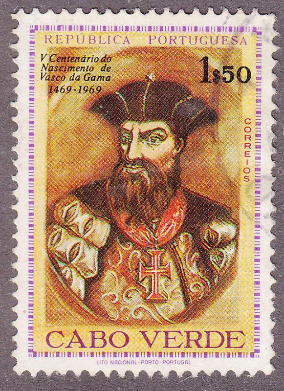 Cape Verde 356 Used 1969 Vasco da Gama