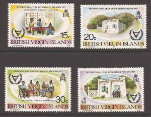Virgin Islands (British) 413-416 Mint VF NH