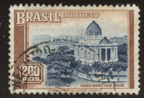 Brazil Scott 446 Used 1937 Monroe Palace Rio