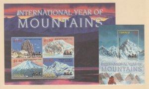Tuvalu Scott #896-897 Stamps - Mint NH Souvenir Sheet Set