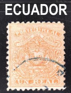 Ecuador Scott 10  VF used.