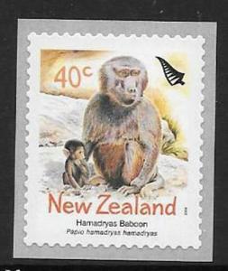 NEW ZEALAND SG2671 2004 ZOO ANIMALS S/A MNH