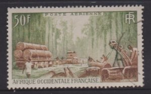 French West Africa Sc#C18 Used