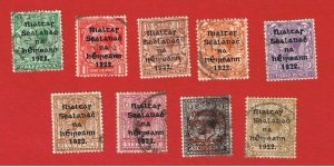 Ireland #23//36  VF used  Great Britain Overprints