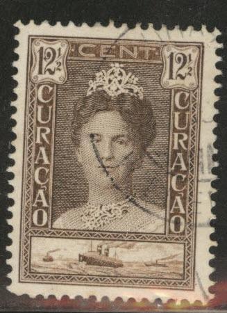 Netherlands Antilles Curacao  Scott 98 used 1928-30 stamp