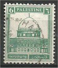PALESTINE, 1927, used 6m Mosque Scott 68