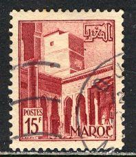 French Morocco 1951: Sc. # 275; O/Used Single Stamp