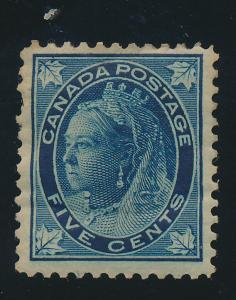 Canada Stamp Scott #70, Mint, Hinge/Paper Remnant - Free U.S. Shipping, Free ...