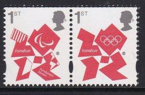 3044-45 Olympics and Paralympics Emblems MNH
