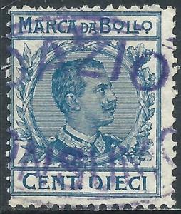 Italy, 10c, Revenue Stamp, Used
