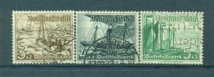 Germany sc# B107-115 used cat value $18.75