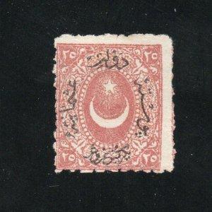 Turkey - Sc# 34 Mint no gum / Signed ?   -   Lot 0320121