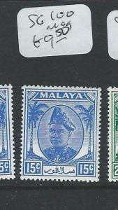 MALAYA SELANGOR (P1208B) SG100    MOG